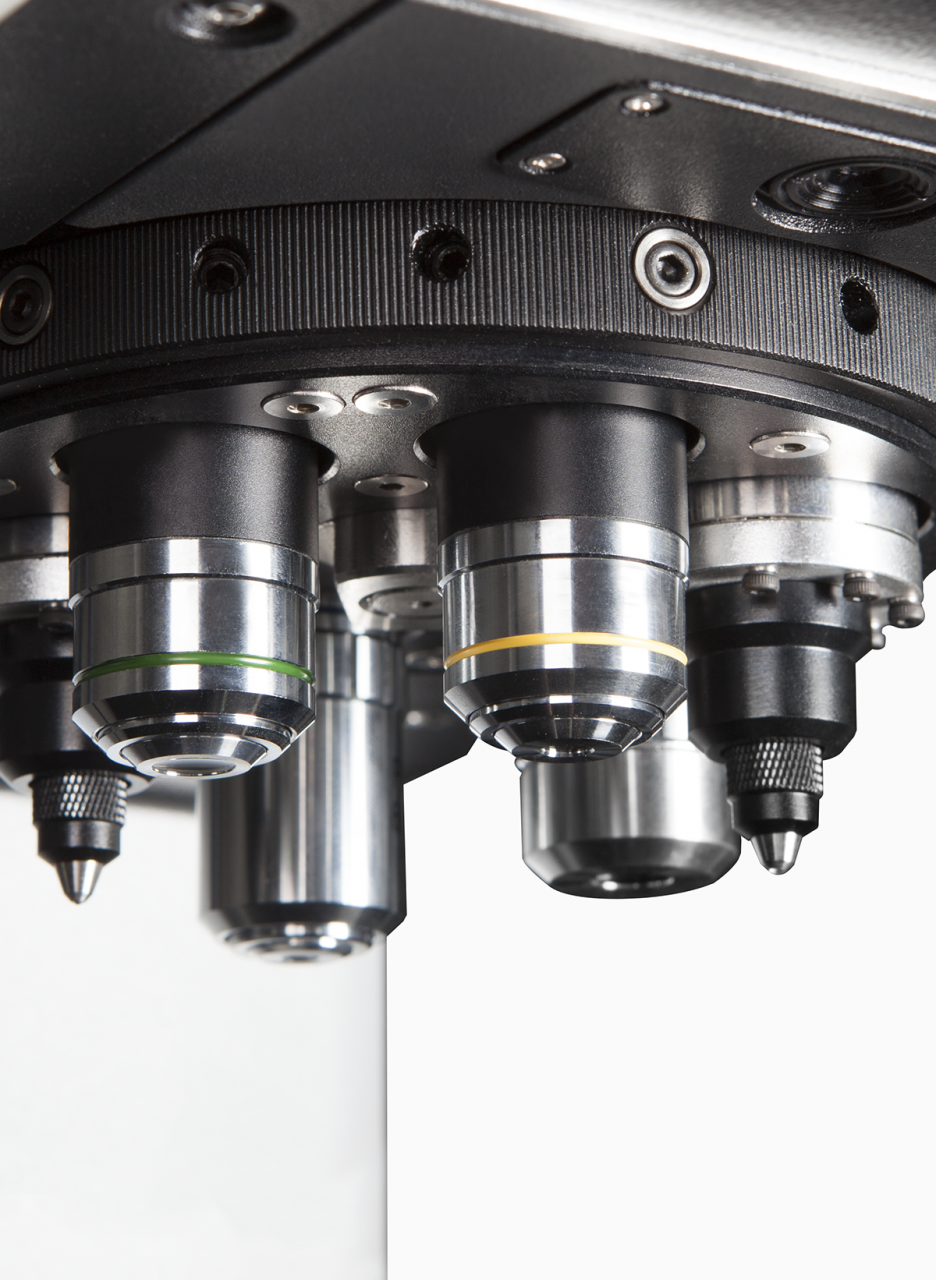 torreta microdurometro vickers innovatest